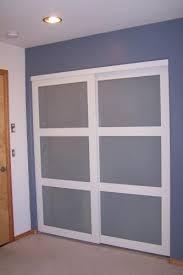 Truporte Closet Doors Truporte 72 In X 80 In 2030 Series White 3 Lite Tempered