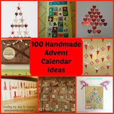 creating my way to success 100 ideas for handmade advent calendars