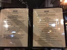 Meme Nyc Menu - meme on hudson new york city west village menu prices