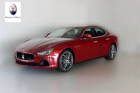 maserati red convertible new inventory maserati of alberta