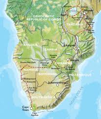 Oasis Map Nairobi To Cape Town 75 Days Grand Adventurer