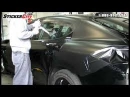 matte flat black vinyl car wrap sticker decal sheet film bubble free porsche panamera matte black car wrap video youtube