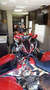 what toyhauler can a honda pioneer 1000 be loaded in honda atv