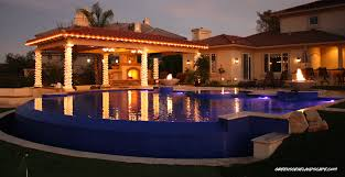 pool and outdoor kitchen designs the green scene elegant backyard retreat project profile