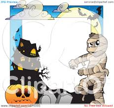 haunted house clipart free clipart mummy cemetery jackolantern and haunted house halloween