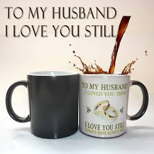 best wedding anniversary gifts to my husband wedding anniversary gift coffee mug magic color