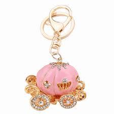 Pumpkin Carriage Aliexpress Com Buy Chaveiro Rhinestone Pumpkin Carriage Keychain