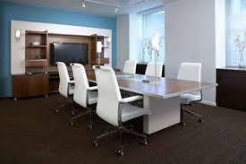 Modern Office Decor Ideas Modern Office Room With Lcd And White Chairs Office Room Ideas