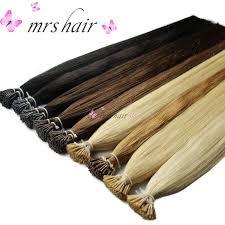pre bonded hair extensions mrshair 1g pc 16 20 24 pre bonded hair extensions i tip machine