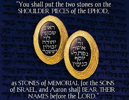 ephod stones by his every word bearing the light parashat tetzaveh by his