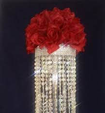 crystal chandelier table centerpiece limited time only wedding