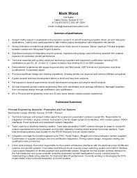 Software Developer Sample Resume by Sample Resume Principal Engineer Contegri Com