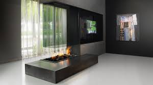 gas fireplace contemporary open hearth built in 870
