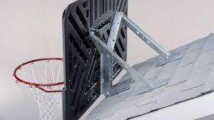 Adjustable Basketball Hoop Wall Mount Lifetime Basketball Systems Location Youtube