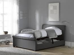 Grey Ottoman Bed Dreams Wilson Ottoman Bed Frame In Dark Grey Dreams