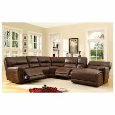6 pc blythe collection brown bonded leather match upholstered