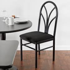 dining room stools lancaster table u0026 seating black 4 spoke restaurant dining room