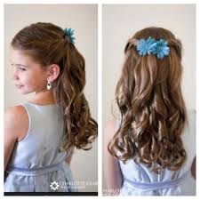 Simple Girls Hairstyles by Super Cute Flower Hairstyle Ideas To Make Simple Wedding