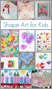 Art And Craft For Kids Of All Ages - art projects for kids using shapes buggy and buddy