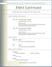 exle resume pdf pdf resume templates sle resume format resume template for