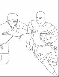 brilliant flag football coloring pages with football coloring
