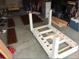 expandable dining table plans diy farmhouse table with extension leaves with plans sweet