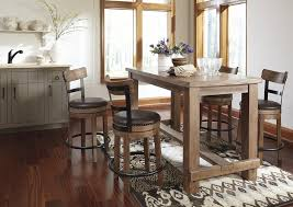 North Shore Dining Room by Furniture Ashley Bar Stools Ashley Furniture Bar Stools Tall