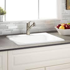 Undermount Kitchen Sink Reviews Other Kitchen Cast Iron Drop In Kitchen Sink Single