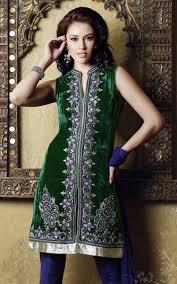 velvet indian dress designs 2018 for women latest trend