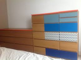 Ikea Malm Headboard Hack by Ikea Hack Malm Dressers Moroccan Inspired Bedroom Dulce Hogar