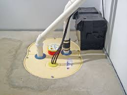 Basement Dewatering System by Basement Waterproofing Contractors In Jamestown Erie Meadville