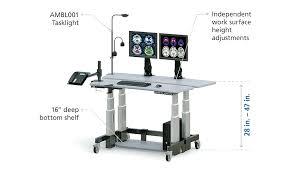 Proper Computer Desk Setup Desk Ergonomic Mesh Computer Office Desk Task Best