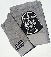 Star Wars Bathroom Set Amazon Com Star Wars Bath Towel Set 2 Towels Home U0026 Kitchen