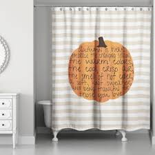 thanksgiving shower curtains you ll wayfair