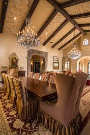 Skirted Dining Chair Skirted Dining Chairs Dining Room Traditional With Brick Ceiling