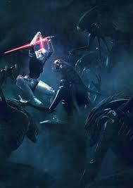 monsters vs aliens halloween star wars vs aliens u2013 a series of explosive illustrations ufunk net