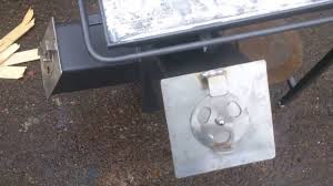 rocket stove bbq plate youtube