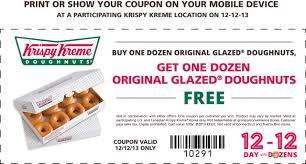 yassss buy a dozen krispy kreme donuts get another dozen for free