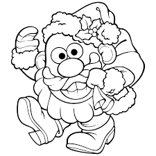 mr potato head coloring pages getcoloringpages com