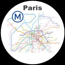 Paris Subway Subway Map