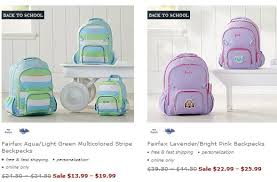 Coupon Codes For Pottery Barn Pottery Barn Kids Backpacks U0026 Lunch Boxes 20 60 Off Southern