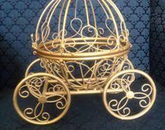 Carriage Centerpiece Vintage Fairytale Centerpiece Cinderella Carriage Centerpiece