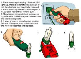How To Fix Christmas Tree Lights How To Troubleshoot Christmas Tree Lights Rainforest Islands Ferry
