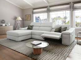 sofa elektrisch verstellbar couchgarnitur leder mit relaxfunktion herrlich leder sofa