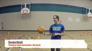 pe games basketball shooting game spots youtube