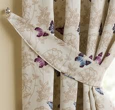 homescapes luxury mauve cream curtain tie backs set of 2 small