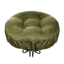 rave sage green bar stool cover with adjustable drawstring yoke