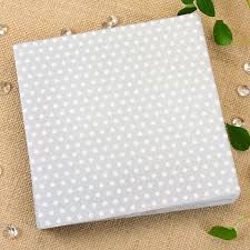 silver metallic white polkadot paper napkins pipii