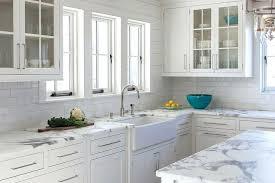 Marble Tile Kitchen Backsplash Marble Tile Backsplash Openpoll Me