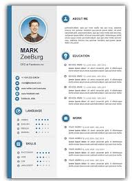 resume template download doc resume templates free download doc resume sle